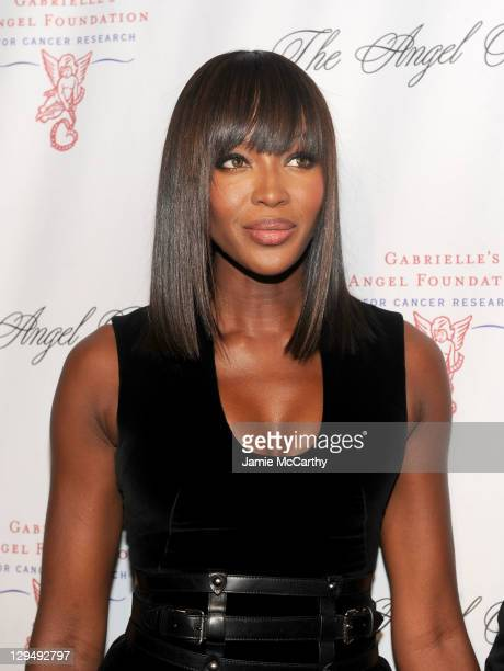 Naomi Campbell attends Gabrielle's Angel Foundation for Cancer Research Hosts Angel Ball 2011 at Cipriani Wall Street on October 17 2011 in New York...