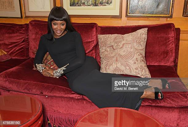 Naomi Campbell attends 'Goldie's LoveIn For The Kids' the 4th annual Hawn Foundation UK fundraising dinner hosted by Goldie Hawn and Kate Hudson...
