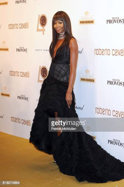 Naomi Campbell attends ROBERTO CAVALLI 40th Anniversary Event CONTACT SIPA PRESS FOR SALES at Les BeauxArts de Paris on September 29 2010 in Paris...
