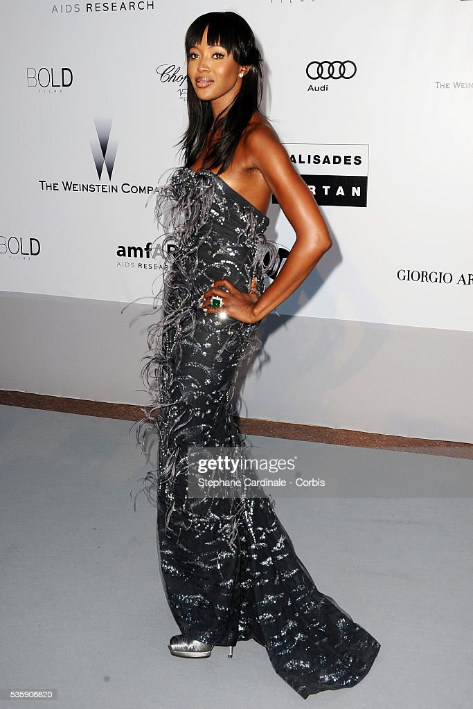 Naomi Campbell attends the '2010 amfAR's Cinema Against AIDS' Gala - Arrivals
