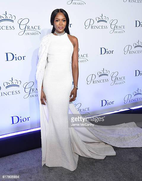Naomi Campbell attends the 2016 Princess Grace awards gala at Cipriani 25 Broadway on October 24, 2016 in New York City.