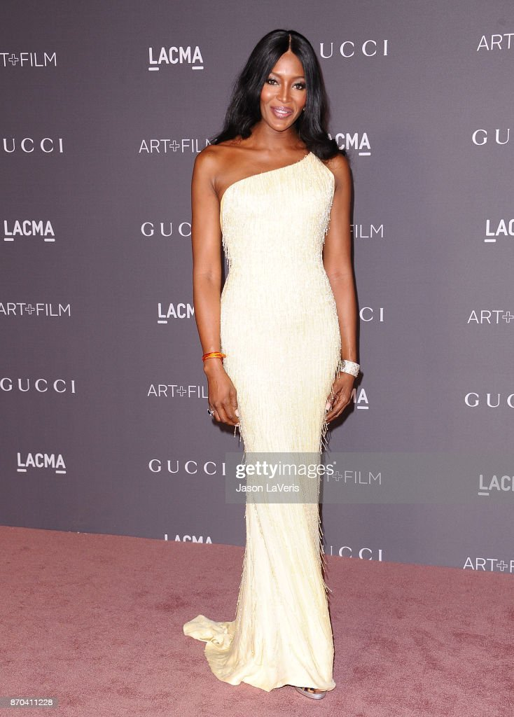 Naomi Campbell attends the 2017 LACMA Art + Film gala at LACMA on November 4, 2017 in Los Angeles, California.