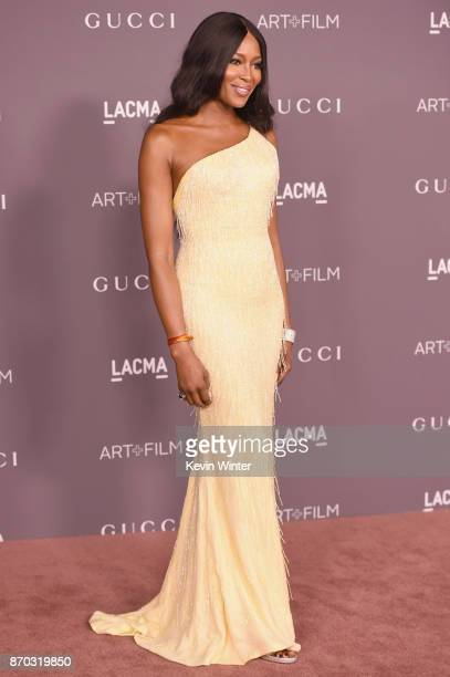 Naomi Campbell attends the 2017 LACMA Art Film Gala Honoring Mark Bradford And George Lucas at LACMA on November 4 2017 in Los Angeles California