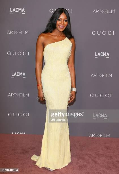 Naomi Campbell attends the 2017 LACMA Art Film Gala Honoring Mark Bradford and George Lucas presented by Gucci at LACMA on November 4 2017 in Los...
