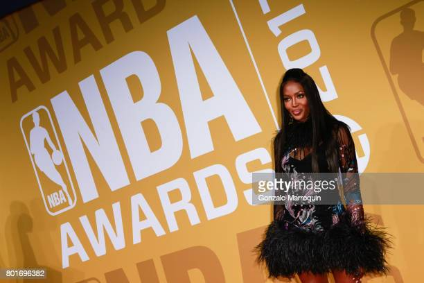 Naomi Campbell attends the 2017 NBA Awards at Basketball City - Pier 36 - South Street on June 26, 2017 in New York City.