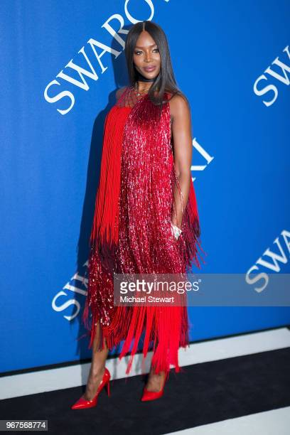 Naomi Campbell attends the 2018 CFDA Fashion Awards at Brooklyn Museum on June 4 2018 in New York City