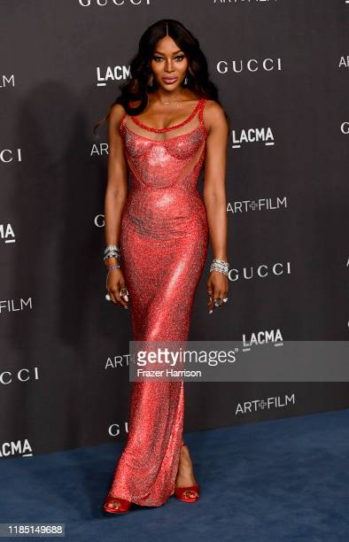 Naomi Campbell attends the 2019 LACMA 2019 Art Film Gala Presented By Gucci at LACMA on November 02 2019 in Los Angeles California