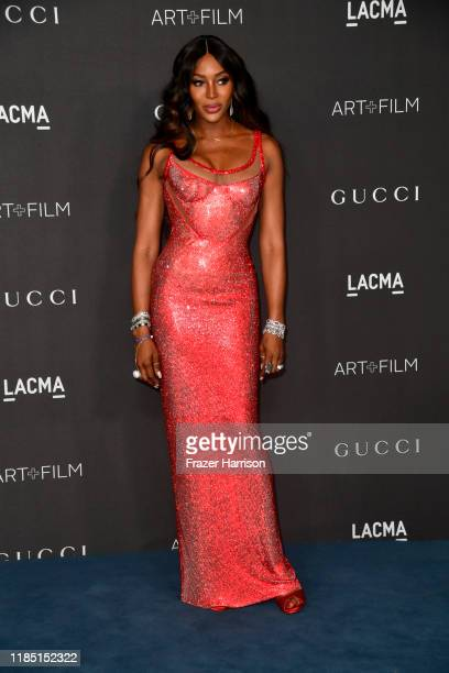 Naomi Campbell attends the 2019 LACMA Art Film Gala Presented By Gucci at LACMA on November 02 2019 in Los Angeles California