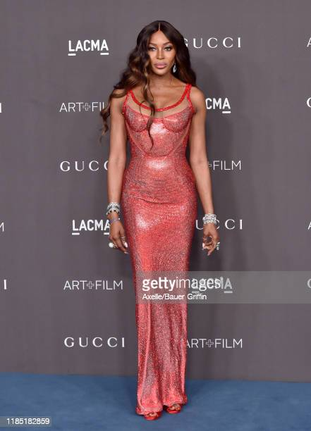 Naomi Campbell attends the 2019 LACMA Art Film Gala Presented By Gucci on November 02 2019 in Los Angeles California