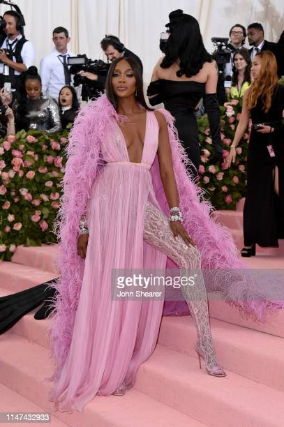 Naomi Campbell attends The 2019 Met Gala Celebrating Camp Notes On Fashion at The Metropolitan Museum of Art on May 06 2019 in New York City