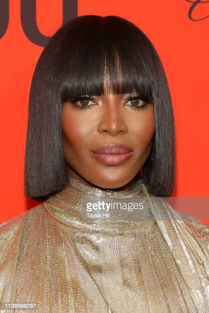 Naomi Campbell attends the 2019 Time 100 Gala at Frederick P. Rose Hall, Jazz at Lincoln Center on April 23, 2019 in New York City.