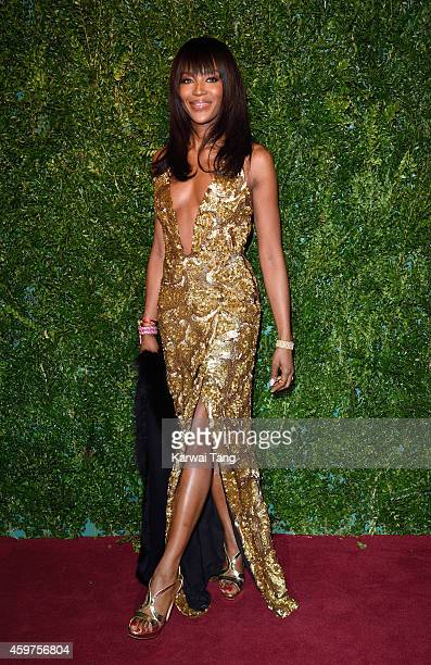 Naomi Campbell attends the 60th London Evening Standard Theatre Awards at London Palladium on November 30 2014 in London England