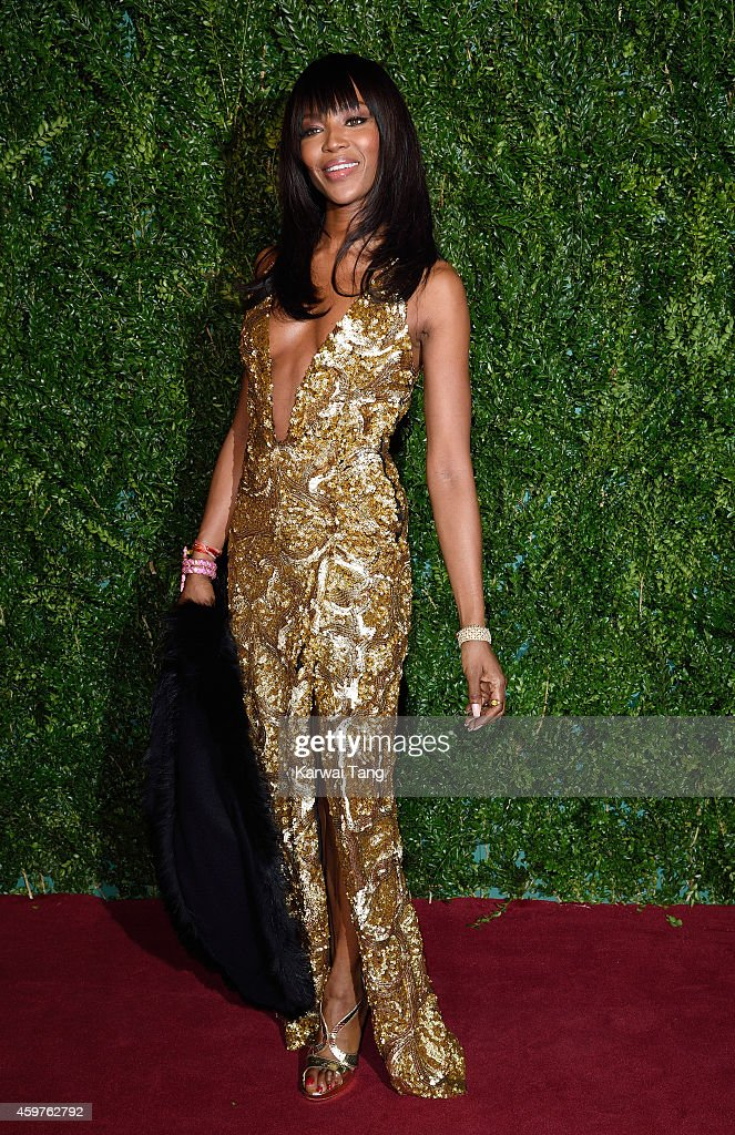 Naomi Campbell attends the 60th London Evening Standard Theatre Awards at London Palladium on November 30, 2014 in London, England.