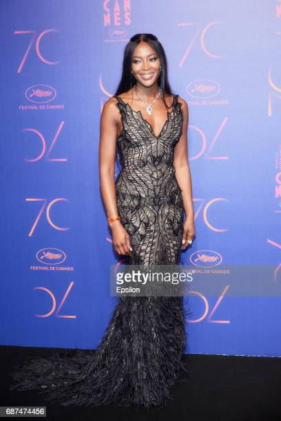 Naomi Campbell attends the 70th Anniversary Dinner during the 70th annual Cannes Film Festival at on May 23 2017 in Cannes France