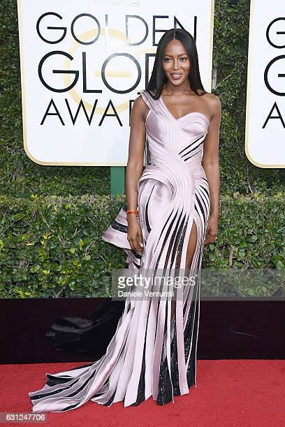 Naomi Campbell attends the 74th Annual Golden Globe Awards at The Beverly Hilton Hotel on January 8 2017 in Beverly Hills California