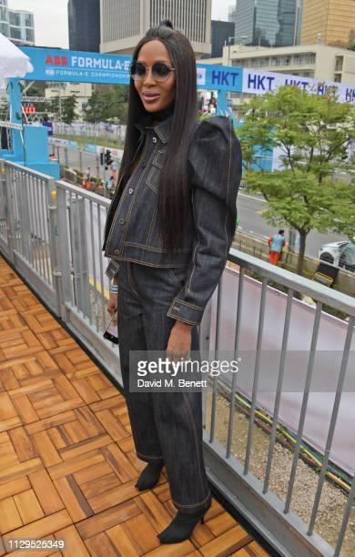 Naomi Campbell attends the ABB FIA Formula E HKT Hong Kong EPrix on March 10 2019 in Hong Kong