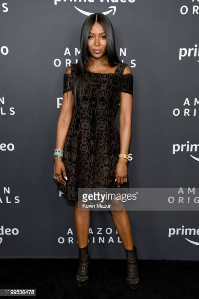 Naomi Campbell attends the Amazon Studios 2020 Winter TCA Press Tour at Langham Hotel on January 14 2020 in Pasadena California