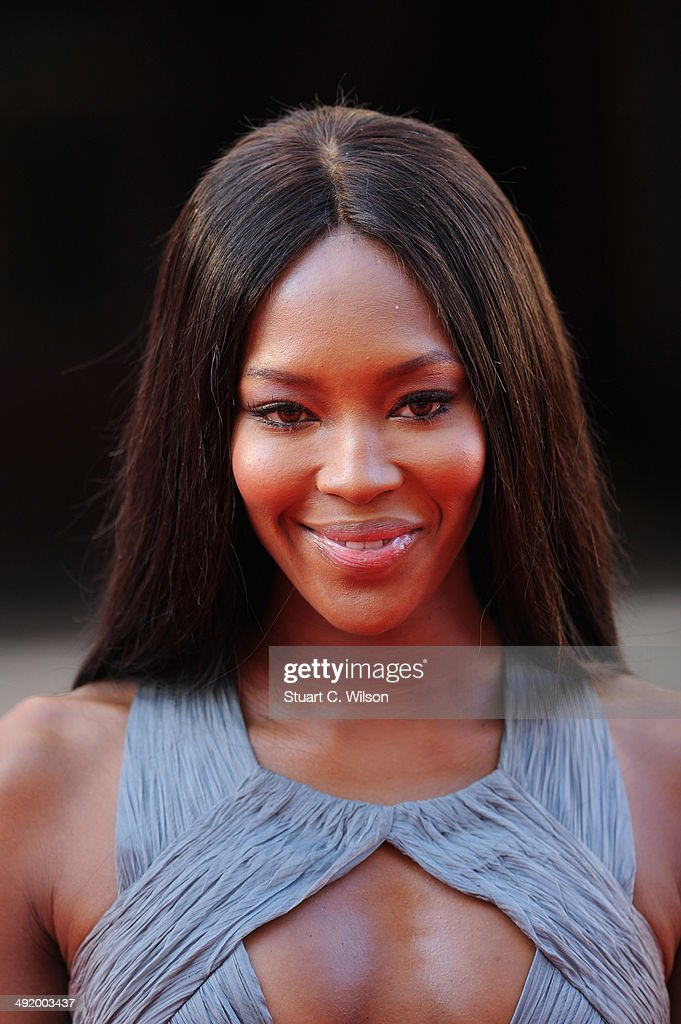 Naomi Campbell attends the Arqiva British Academy Television Awards at Theatre Royal on May 18, 2014 in London, England.