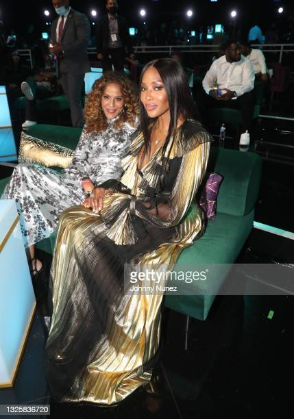 Naomi Campbell attends the BET Awards 2021 at Microsoft Theater on June 27, 2021 in Los Angeles, California.
