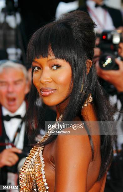 Naomi Campbell attends the Biutiful Premiere at the Palais des Festivals during the 63rd International Cannes Film Festival on May 17 2010 in Cannes...