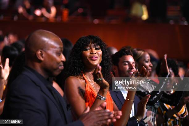 Naomi Campbell attends the Black Girls Rock 2018 Show at NJPAC on August 26 2018 in Newark New Jersey