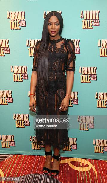 Naomi Campbell attends the Broadway Opening Night After Party for 'A Bronx Tale' at The Marriot Marquis Hotel on December 1 2016 in New York City
