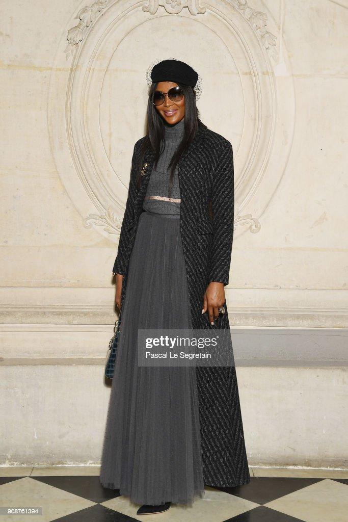 Christian Dior : Photocall - Paris Fashion Week - Haute Couture Spring Summer 2018