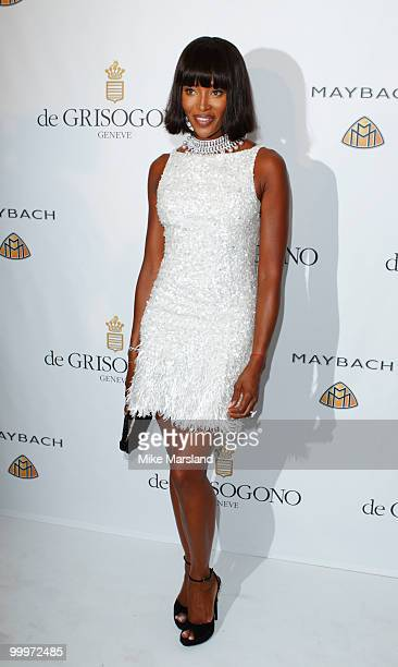 Naomi Campbell attends the de Grisogono party at the Hotel Du Cap on May 18, 2010 in Cap D'Antibes, France.