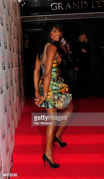 Naomi Campbell attends the Elle style awards on February 22, 2010 in London, England.