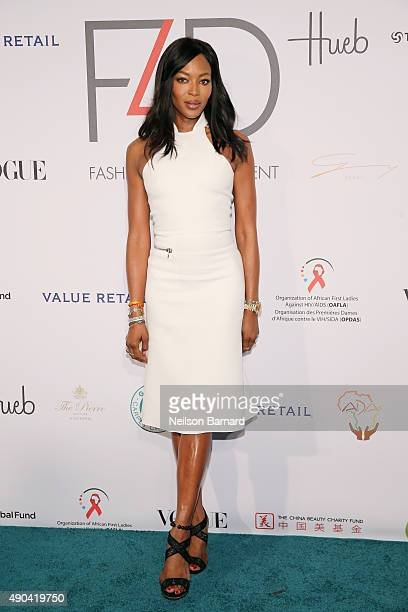 Naomi Campbell attends the Fashion 4 Development's 5th annual Official First Ladies luncheon at The Pierre Hotel on September 28 2015 in New York City