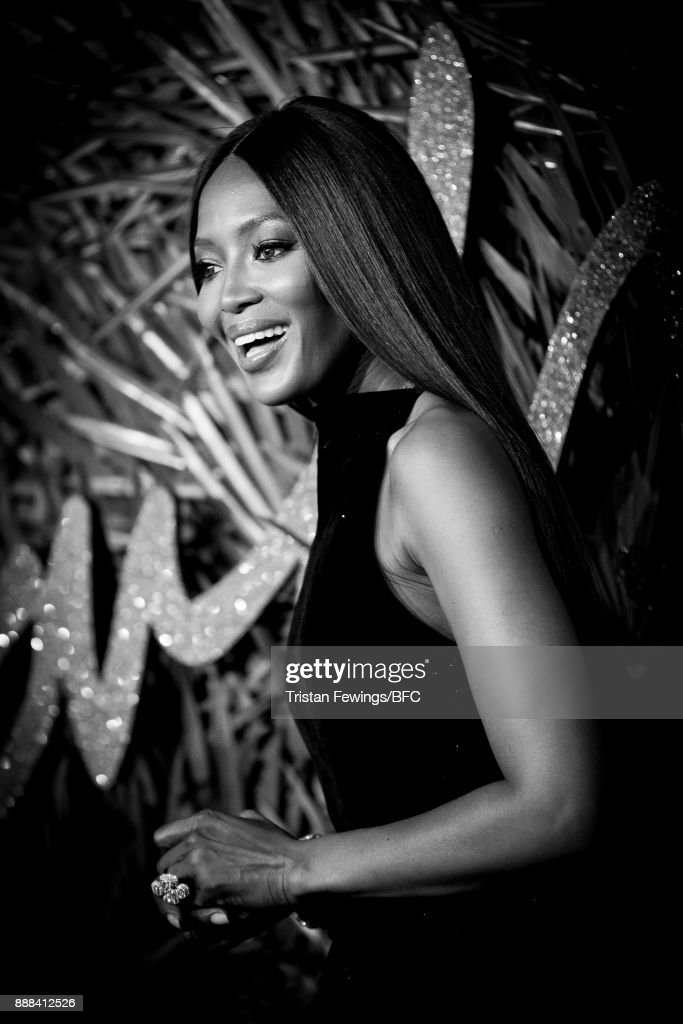 Naomi Campbell attends The Fashion Awards 2017 in partnership with Swarovski at Royal Albert Hall on December 4, 2017 in London, England.