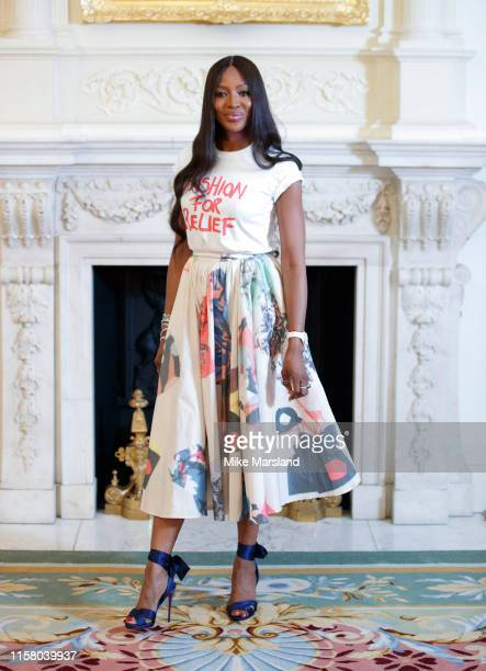 Naomi Campbell attends The Fashion Awards 2019 Announcement at The Ritz on Jun e 24 2019 in London England