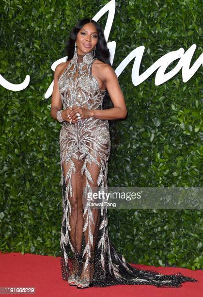 Naomi Campbell attends The Fashion Awards 2019 at the Royal Albert Hall on December 02 2019 in London England