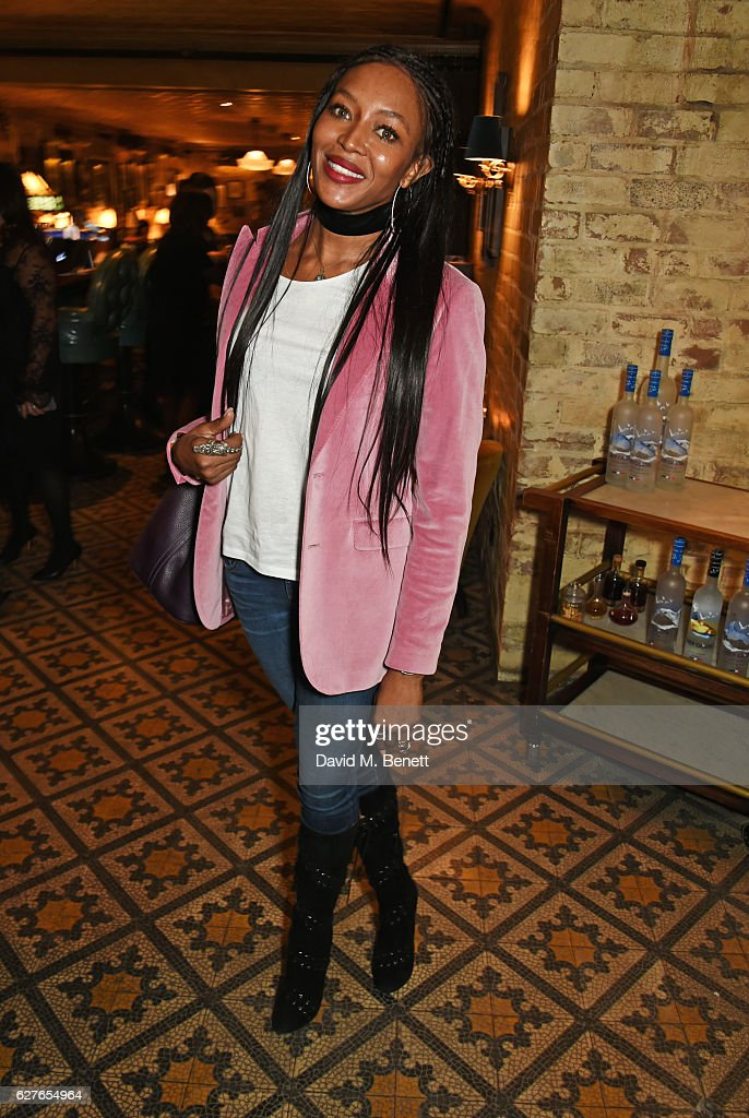 Naomi Campbell attends The Fashion Awards in partnership with Swarovski nominees' lunch hosted by the British Fashion Council with Grey Goose at Little House Mayfair on December 4, 2016 in London, England.
