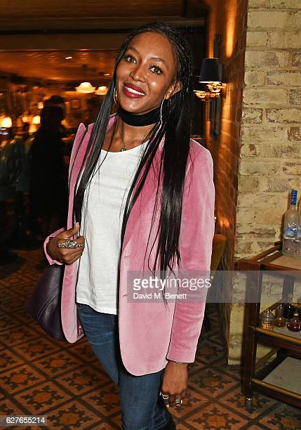 Naomi Campbell attends The Fashion Awards in partnership with Swarovski nominees' lunch hosted by the British Fashion Council with Grey Goose at...