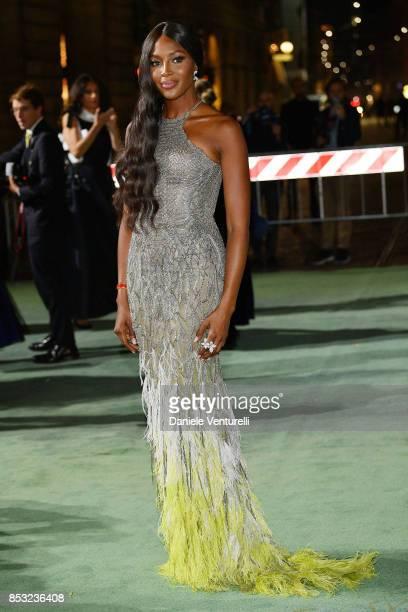 Naomi Campbell attends the Green Carpet Fashion Awards Italia 2017 during Milan Fashion Week Spring/Summer 2018 on September 24 2017 in Milan Italy