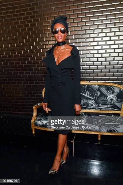 Naomi Campbell attends the JeanPaul Gaultier Haute Couture Fall/Winter 20182019 show as part of Haute Couture Paris Fashion Week on July 4 2018 in...
