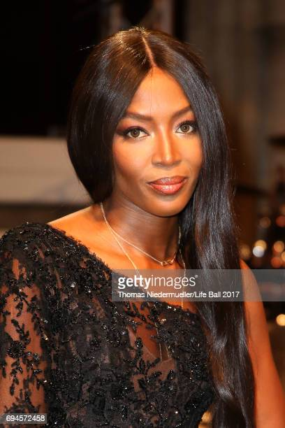 Naomi Campbell attends the Life Ball 2017 Gala Dinner at City Hall on June 10 2017 in Vienna Austria
