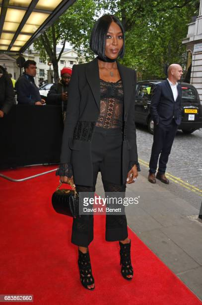 Naomi Campbell attends the London screening of 'Can't Stop Won't Stop A Bad Boy Story' presented by Apple Music at The Curzon Mayfair on May 16 2017...