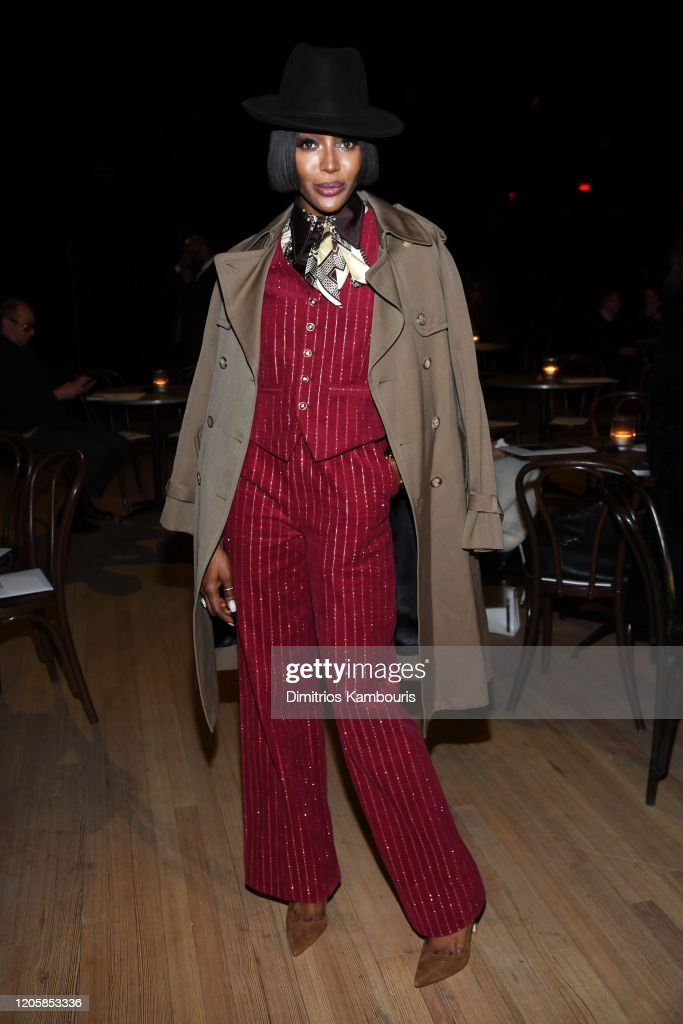 Marc Jacobs Fall 2020 Runway Show - Front Row : News Photo