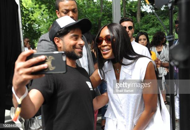 Naomi Campbell attends the OZY Fest 2018 at Rumsey Playfield Central Park on July 21 2018 in New York City