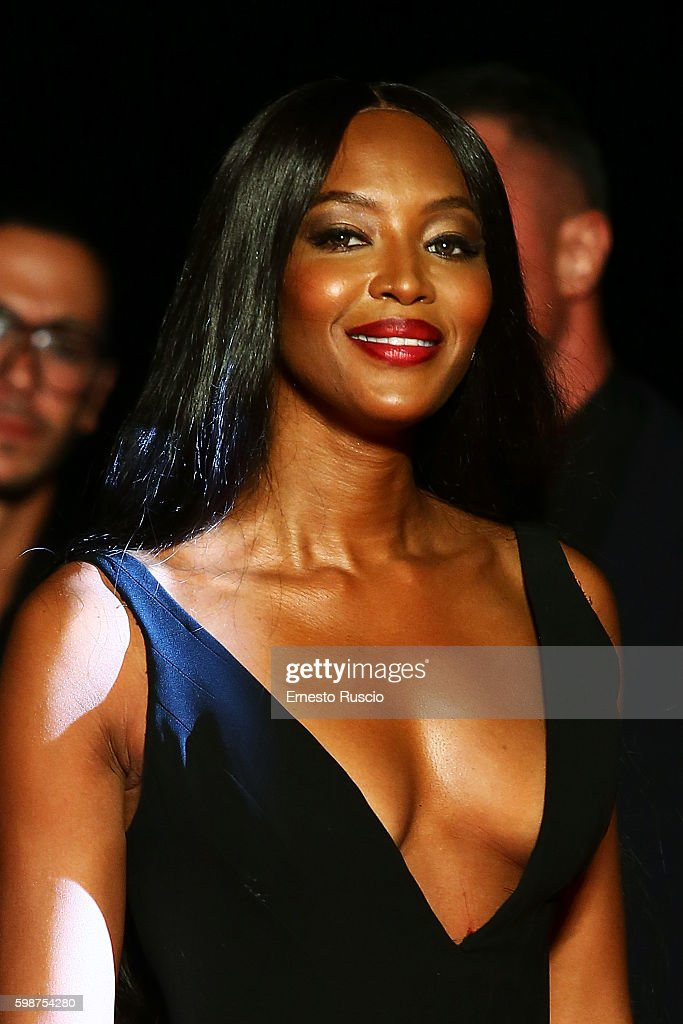 Naomi Campbell attends the premiere of 'Franca: Chaos And Creation' during the 73rd Venice Film Festival at Sala Giardino on September 2, 2016 in Venice, Italy.