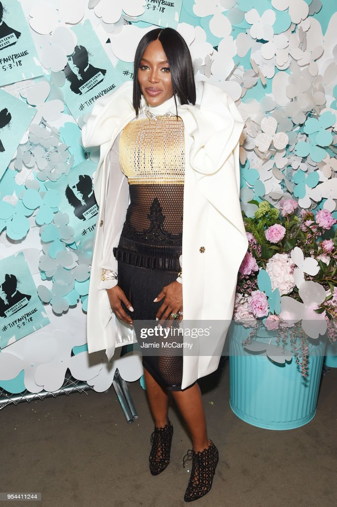 Tiffany & Co. Paper Flowers Event And Believe In Dreams Campaign Launch : ニュース写真