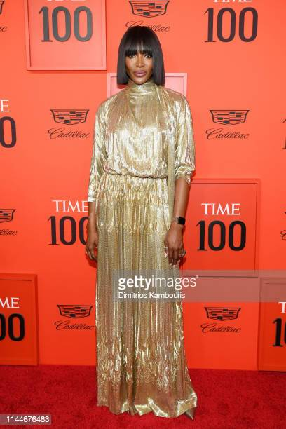 Naomi Campbell attends the TIME 100 Gala Red Carpet at Jazz at Lincoln Center on April 23 2019 in New York City