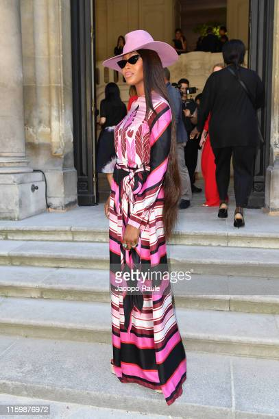 Naomi Campbell attends the Valentino Haute Couture Fall/Winter 2019 2020 show as part of Paris Fashion Week on July 03 2019 in Paris France