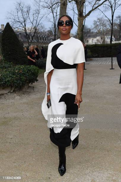 Naomi Campbell attends the Valentino show as part of the Paris Fashion Week Womenswear Fall/Winter 2019/2020 on March 03 2019 in Paris France
