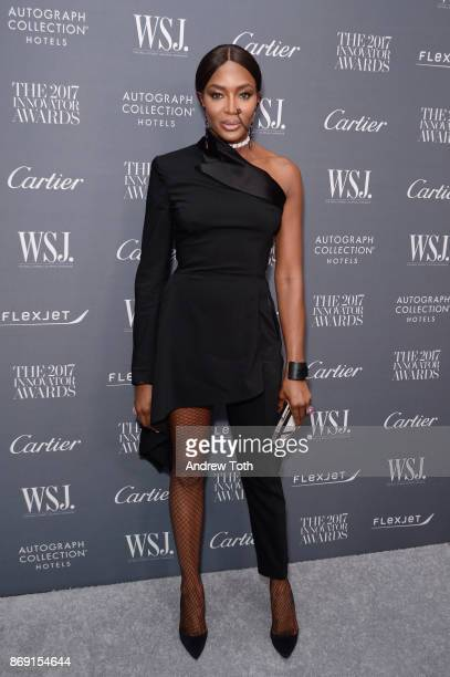 Naomi Campbell attends the WSJ Magazine 2017 Innovator Awards at MOMA on November 1 2017 in New York City