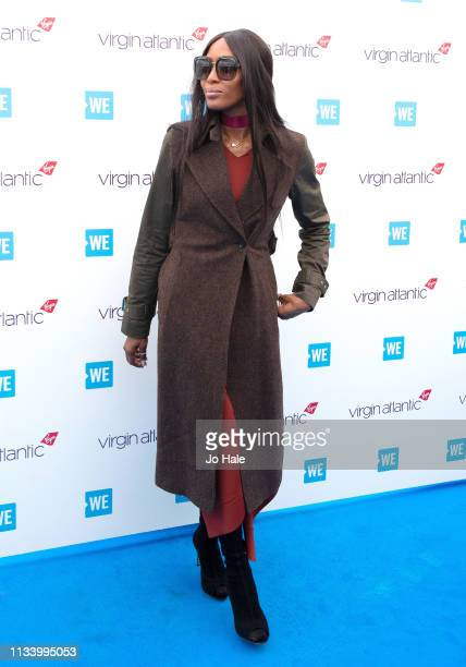 Naomi Campbell attends We Day UK at SSE Arena on March 06 2019 in London England