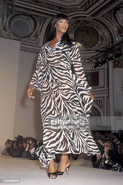 Naomi Campbell during 1996 Victoria's Secret Fahion Show - February 6, 1996 at The Plaza Hotel in New York City, New York, United States.