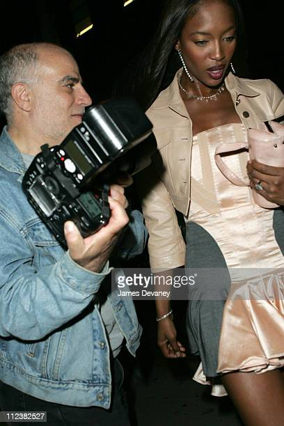 Naomi Campbell during Celebrity Sightings at The Maritime Hotel in New York City May 1 2004 at The Maritime Hotel in New York City New York United...